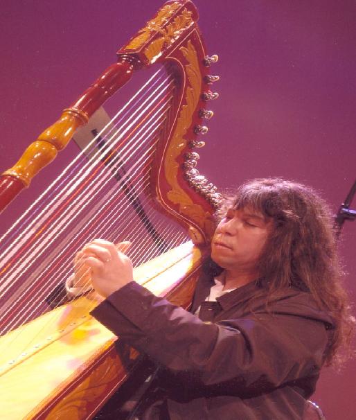 Ismael Ledesma y su arpa paraguaya (espagnol) por S. Cabrejos