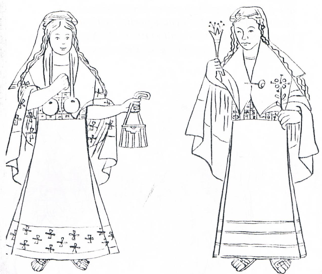 Vestido tradicional del Perú (espagnol) por Carmen Ponce