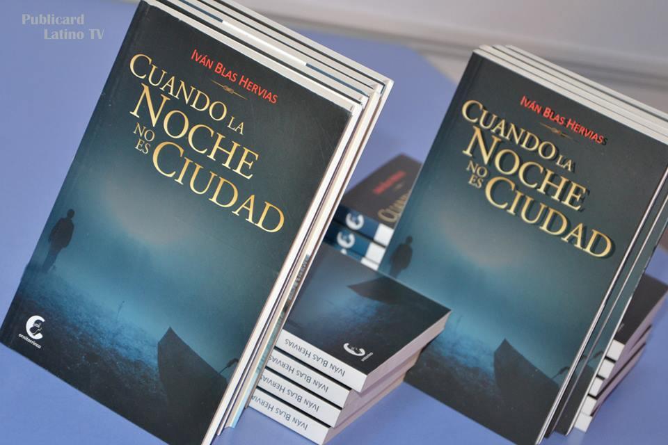 Novela de Iván Blas « Cuando la noche no es ciudad »  fue presentada en Paris (espagnol) por S. Cabrejos